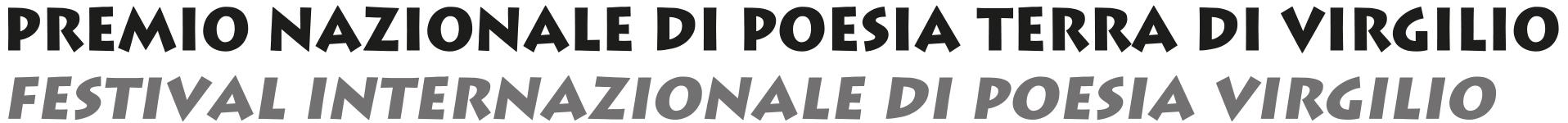 Premio Nazionale Poesia Terra di Virgilio